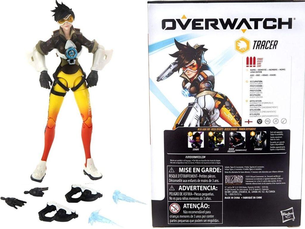 Overwatch Tracer Action Figure