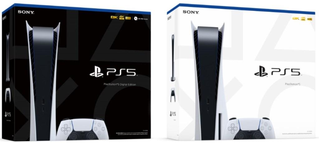 Sistem konsol Playstation 5 dalam kemasan
