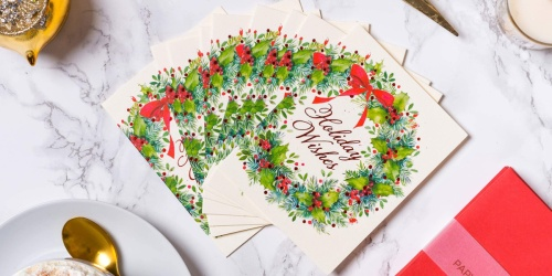 Papyrus Boxed Christmas Cards from $3 on Amazon (Regularly $15+)