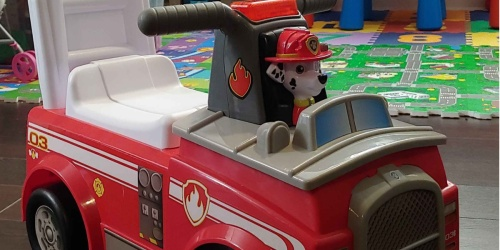 Paw Patrol Fire Truck Ride-On Toy Only $19.97 on Walmart.com (Regularly $35)