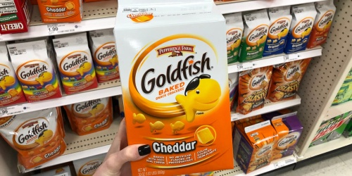 Two BIG Pepperidge Farm Goldfish Cartons Only $8.62 Shipped on Amazon | Just $4.31 Each