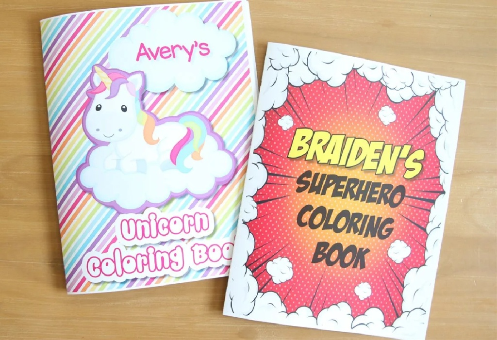 Personalized Color Books