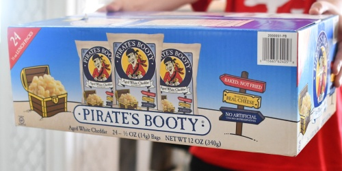 Pirate's Booty Cheddar Puffs 24-Pack Just $7.58 Shipped on Amazon
