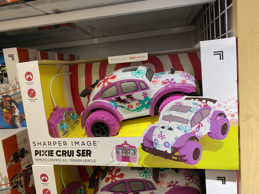 Pixie Cruiser shown in store on display