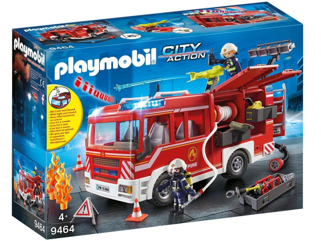 Playmobil City Action Fire Truck box