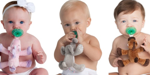 Plush Animal Pacifiers Only $11.99 | Unicorn, Elephant, Horse & More