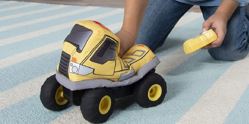 Plush Remote Control Dump Truck Only $8.62 on Amazon (Regularly $15)