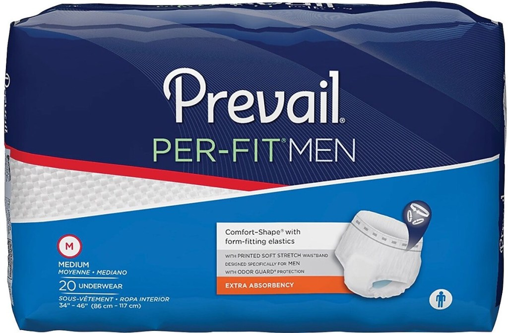 Prevail Per-Fit Men underwear package