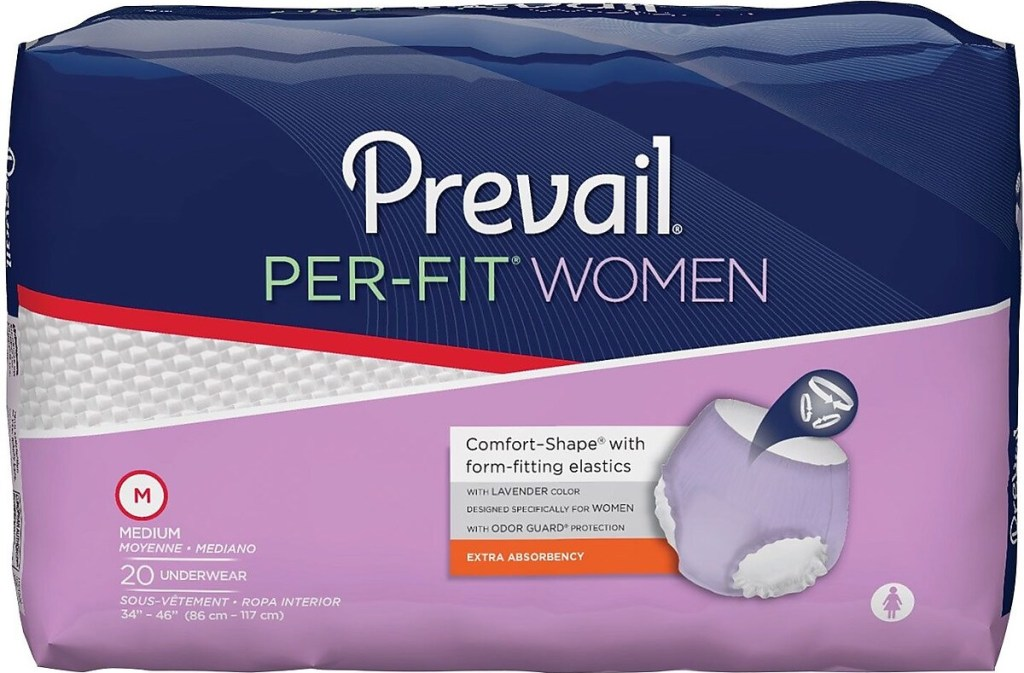Prevail Per-Fit Underwear package