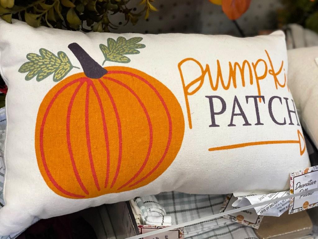 Pumpkin Patch Decorative Pillow at Target