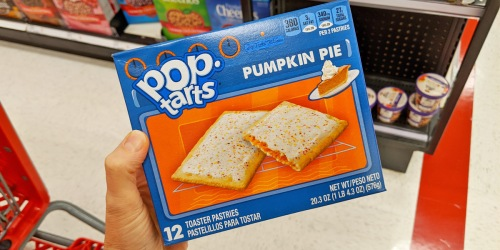 Limited Edition Pumpkin Pie Flavored Pop-Tarts Now Available at Target
