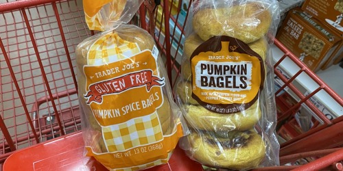 Trader Joe's 2020 Fall Products are Out! | Pumpkin Bagels, Maple Butter & More