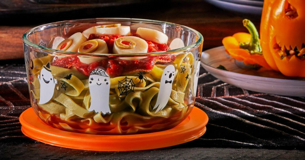 Pyrex Halloween Storage Containers