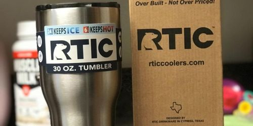RTIC 30oz Tumbler Only $10 on Amazon | Over 7,800 5-Star Reviews