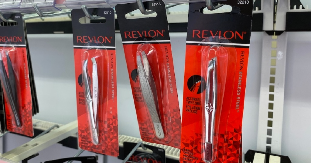 Revlon Stainless Steel Tweezers
