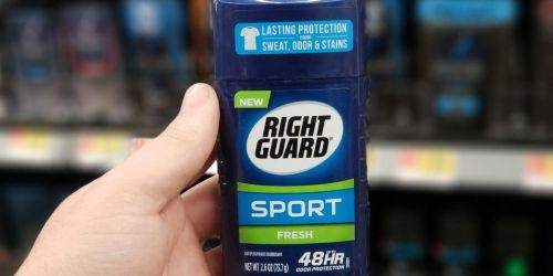 Right Guard Sport Deodorant 6-Pack Only $8 Shipped on Amazon