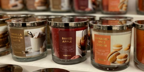 3-Wick Candles from $5.99 Shipped for Kohl's Cardholders (Regularly $20) | Includes New Fall Scents!
