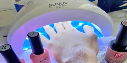 UV/LED Gel Nail Lamp Only $9 on Amazon (Regularly $26) | Thousands of Five-Star Reviews