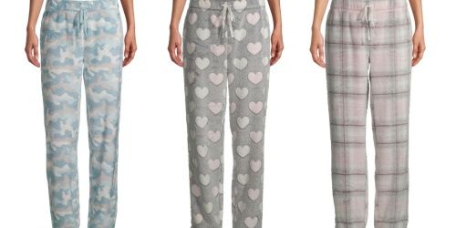 Women's & Men's Pajama Pants from $7.88 on Walmart.com | Disney, Hershey's & More