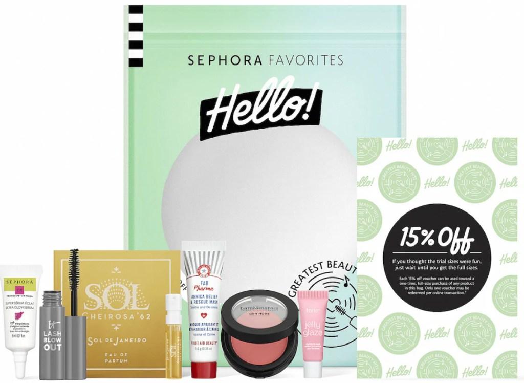 sephorar greatest hits beauty kit
