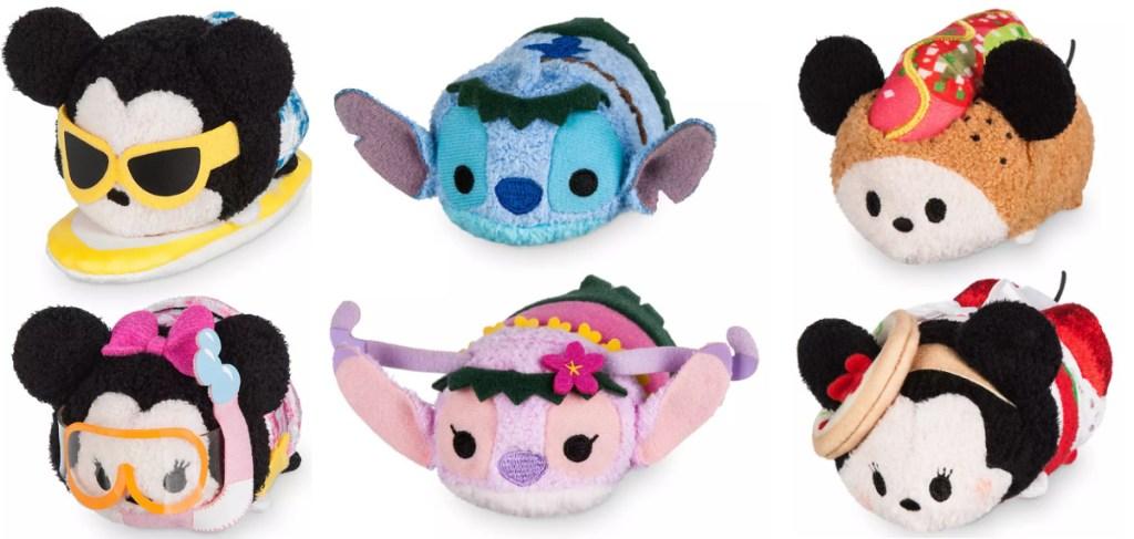 Disney Tsum Tsum Sets sitting next to each other