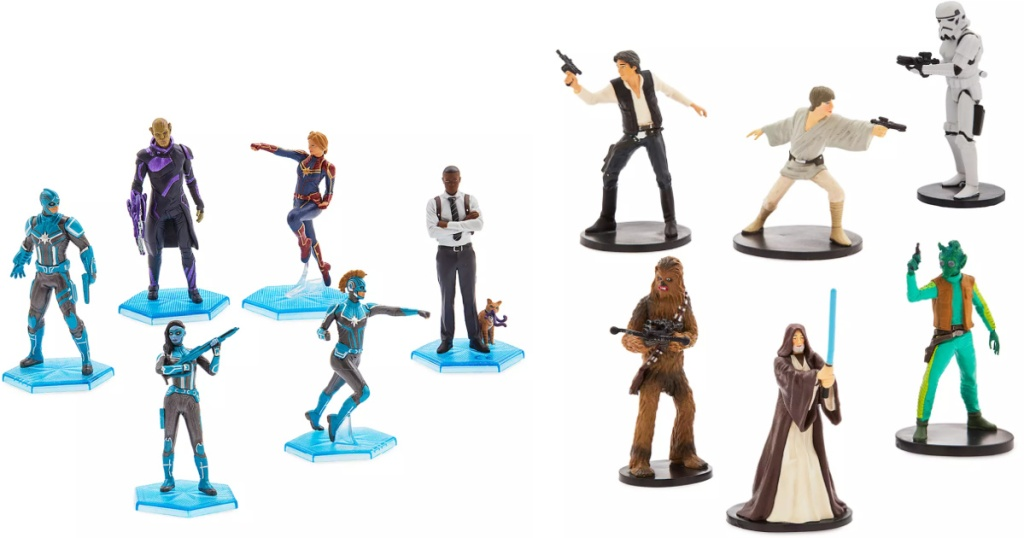 Marvel Avengers Playset and Star Wars Characters Playsets