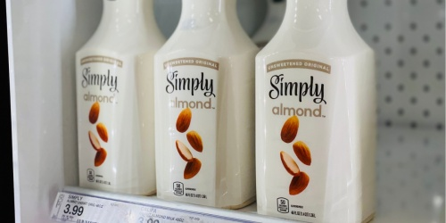 $0.75/1 Simply Almond Milk Coupon =  46oz Bottle Only $1.44 After Cash Back at Target