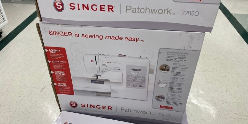 Over 50% Off Singer Patchwork Quilting Machine + FREE Shipping on JOANN.com