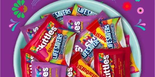 Skittles, Starburst, and Life Savers Gummies Halloween Candy 170-Count Bag Only $11 on Amazon