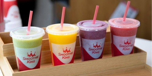 Score a FREE Smoothie King Smoothie + Enter to Win Free Smoothies for a Year!