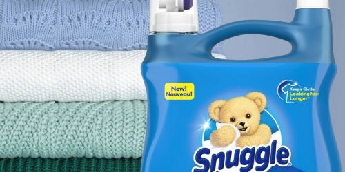 Snuggle Liquid Fabric Softener 90-Load Bottles Just $5.47 Each Shipped on Amazon