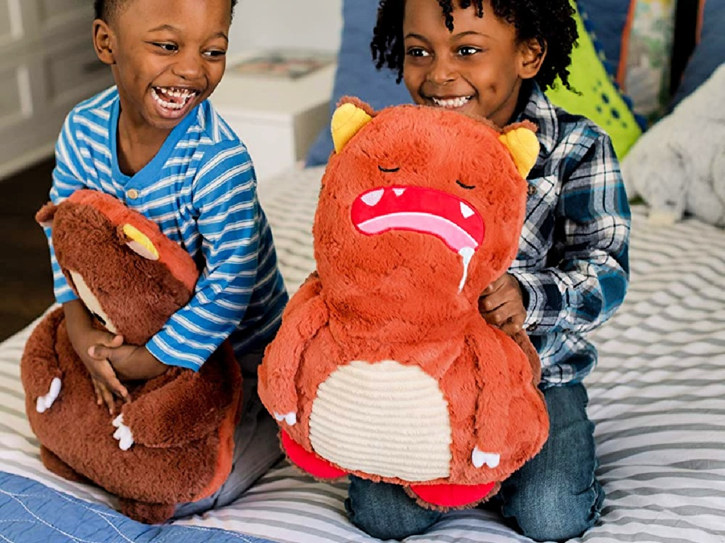 Soft Landing Backflips Reversible Bear/Monster Plush