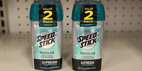 Speed Stick Deodorant 2-Pack Only $2 Shipped on Amazon | Just $1 Each