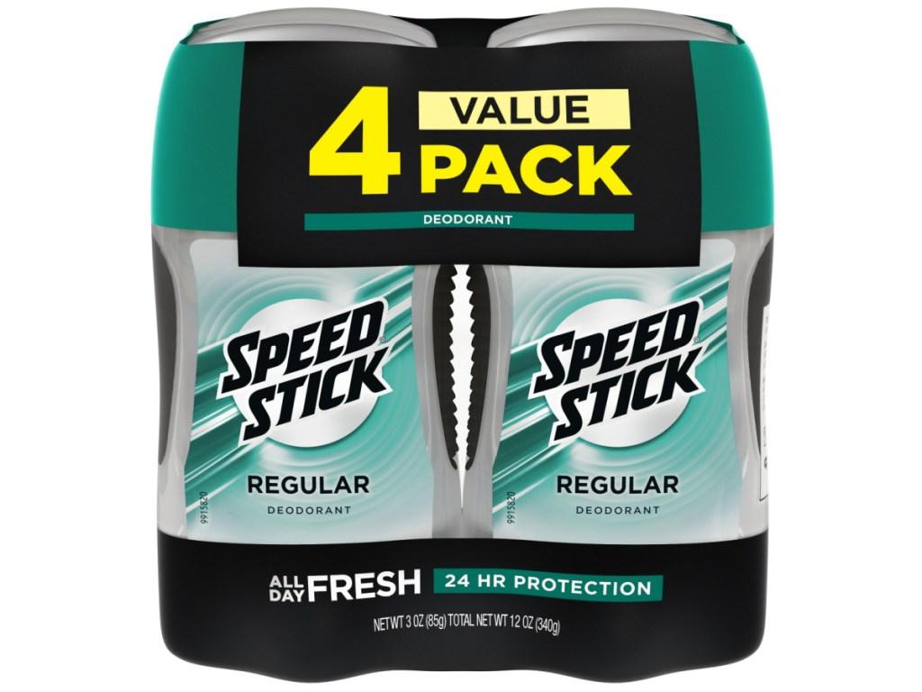 Speed Stick Deodorant 4-Pack