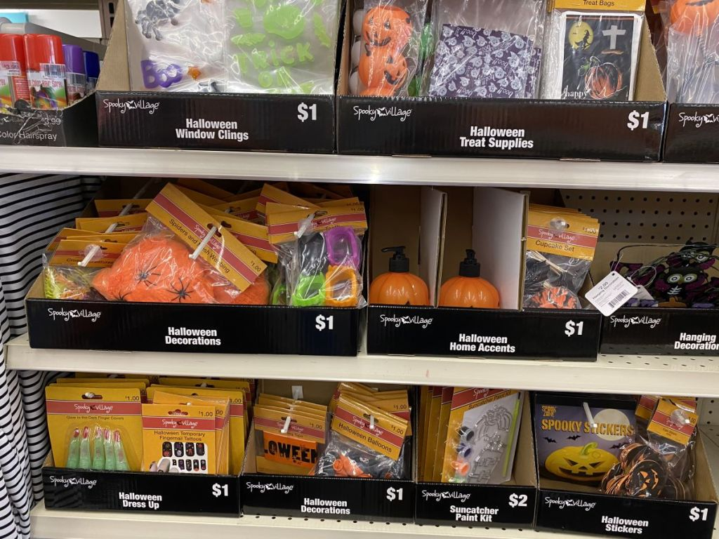 halloween decorations, accessories and home items at CVS