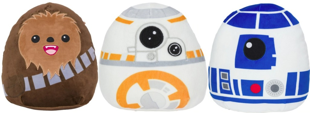 Star Wars Squishmallows from Walgreens