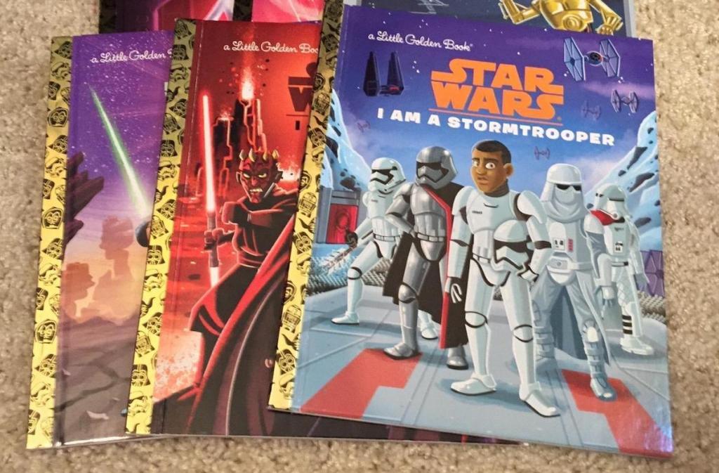 Star Wars a Little Golden Book
