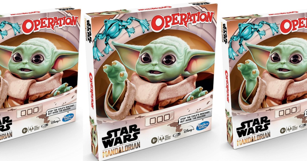 Star Wars: The Mandalorian Edition Operation Game