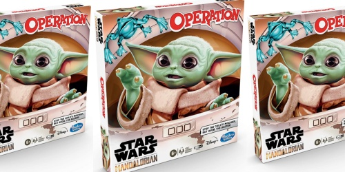 Star Wars: The Mandalorian Edition Operation Game Just $17.96 at Walmart.com or Amazon