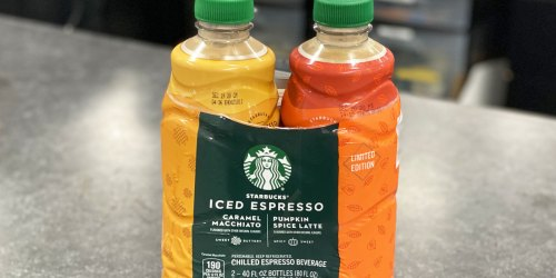 Starbucks Fall-Flavored Chilled Espresso Beverages 2-Pack Just $7.98 at Sam's Club