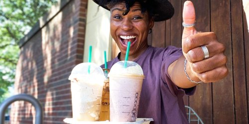 Order Starbucks Drink in Mobile App Today & Score Free Starbucks Drink (up to $10 Value!)