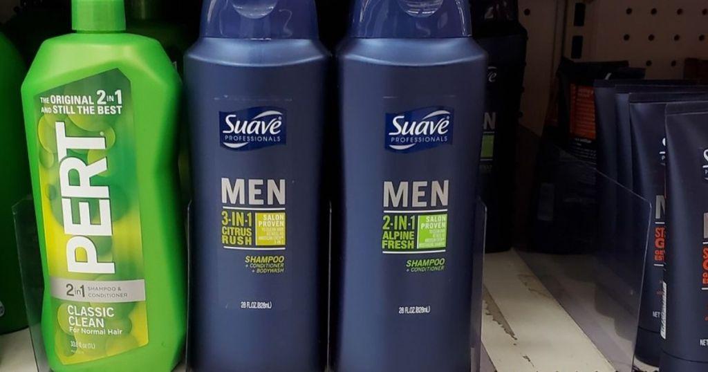 Suave Professionals Men's 28oz 3 in 1 Body Wash