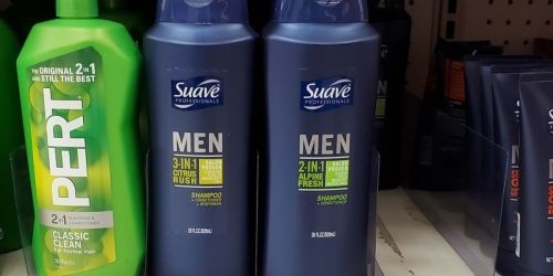 BIG Suave Professionals 28-Ounce Men's 3-in-1 Body Wash Only $2 Shipped on Amazon