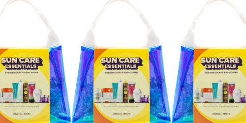 Sun Care Essentials 9-Piece Set Only $17.85 on Macys.com (Regularly $35) & More