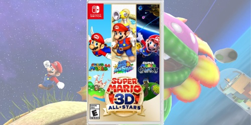 Super Mario 3D All-Stars Nintendo Switch Game Just $46.99 Shipped (Regularly $60)