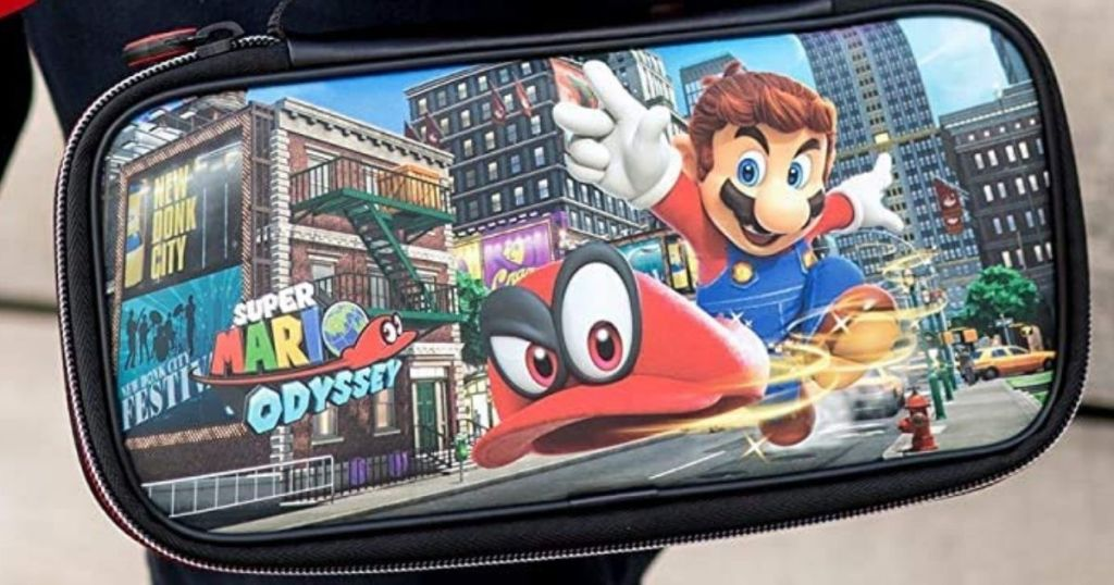 Super Mario Odyssey Nintendo Switch Case