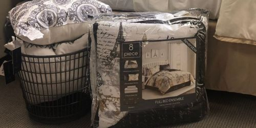 8-Piece Bedding Sets Only $27.99 Shipped on Macys.com (Regularly $100) | Choose ANY Size