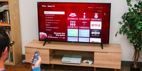 TCL 55″ 4K Roku Smart TV Only $278 Shipped on Walmart.com (Regularly $600) | Thousands of Five-Star Reviews