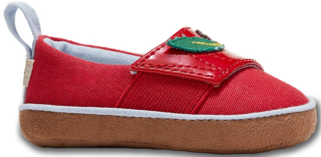 red apple toms shoes