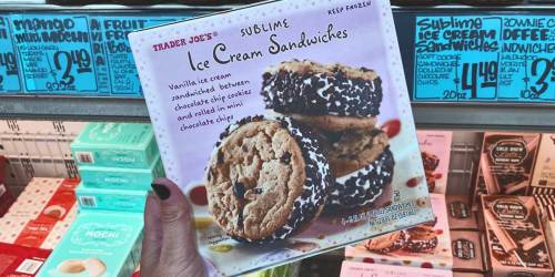 Trader Joe's Sublime Ice Cream Sandwiches Are Everything You Want in a Frozen Treat & They're Only $4.49